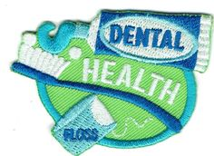 My home is a smoke-free and pet-free home. As a fellow Girl Scout Leader, I understand your need for documentation of the sale. Some of the patches may be slightly smaller or larger. Patch Name/Title DENTAL HEALTH (floss). | eBay!