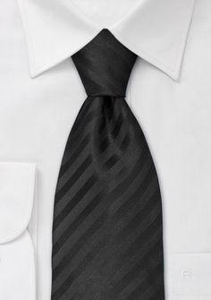 Black tiesClassic black tie