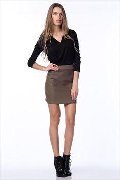 Trend: Sezonun Gözdeleri · Kadın Tekstil - Vizon Etek FM-015-79 %57 indirimle 29,99TL ile Trendyol da
