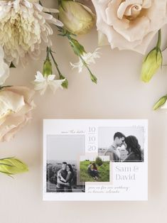Jan 2020 - Modern Scrapbook Photo Wedding Save the Date Cards Blue Country Weddings, Country Wedding Colors, Elegant Wedding Colors, Barn Wedding Centerpieces, Blue Wedding Receptions, Wedding Reception Backdrop, Wedding With Kids, Wedding Save The Dates, Our Wedding