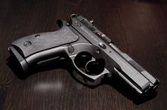 CZ-75 P01 Pistol, maybe one of the best 9MM pistols.
