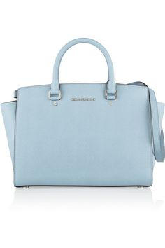Selma baby blue. Michael Kors. I don't usually get excited about bags but i loooveeee this!!
