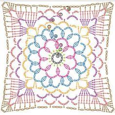 #crochetdiagram #grannysquare #diagramcrochet #grannysquares #crochet #freecrochetdesign #freecrochetdiagram
