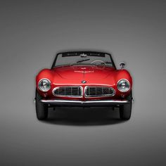 """Art gallery LUMAS recently teamed up with BMW for a one-off project showing the fascinating history of some of BMWs most impressive and exciting cars. The series, shot by Erik Chmil, shows a total of ten models, each of which they consider """"a landmark in the history of contemporary automobile design."""""""