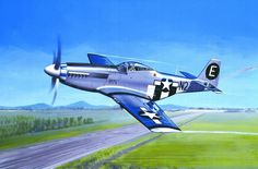 North American P-51D Mustang by Serge Jamois