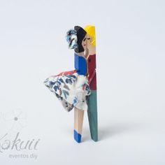 Clothespins pareja 2