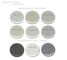 The Gray Paint Guide