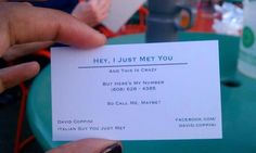 Carly Rae Jepsen Style for Business Cards
