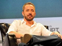 Dropbox's 33-year old billionaire CEO shares why a 'happy cupcake' makes his company better  At 33, Dropbox CEO Drew Houston is one of the youngest billionaires in the world,  according to Forbes .   Most of his wealth comes from his ownership in Dropbox, the online file-storage and collaborationcompany that shot up to a $10 billion valuation in 2014, just seven years after its founding.   There are a lot of different reasons for Dropbox's success, but Houston pointed toone quirk..