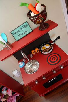 Play Kitchen by Project Tuesday, via Flickr