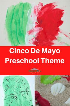 Let's all celebrate with this fun and colorful Cinco De Mayo Preschool Theme!