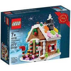 LEGO 40139 Gingerbread House (277 Pieces) - NWOB - EB4