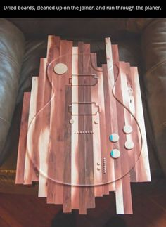 electric manzanita guitar