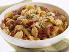 Get Orecchiette with Roasted Fennel and Sausage Recipe from Food Network
