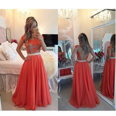 Long Prom Dress with Illusion Back pst0597 – BBtrending