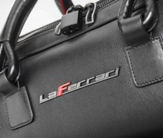 LaFerrari 48-hour Travel Bag is the perfect Valentine's Day gift for Ferrari fans - CapeLux.com