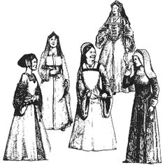 Amazon Drygoods - Early Tudor Woman's Gowns, $19.95 (http://www.amazondrygoods.com/products/early-tudor-womans-gowns.html/)