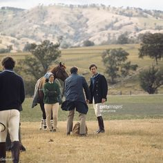 Prince of Wales takes part in a polo...