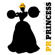 3rd in series (Cinderella). CrossFit + Disney.