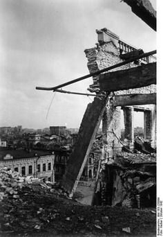 Ruins of Stalingrad, 1942