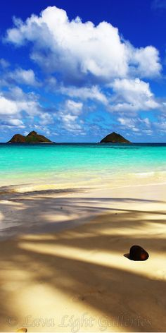 Lanikai Beach on Oahu, Hawaii. My favorite beach. I will be going there soon!