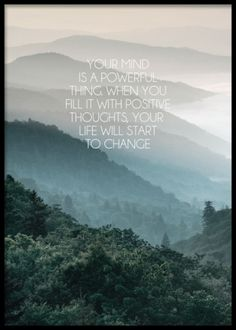 Mind, mindfulness plakat