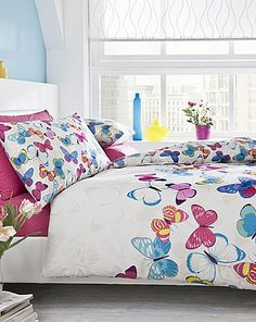 Butterfly Fusion Duvet Cover Set By Catherine Lansfield