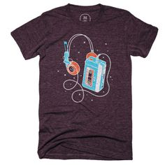 #Marvel Comics: Guardians of the Galaxy: Star-Lord's Walkman t-shirt.