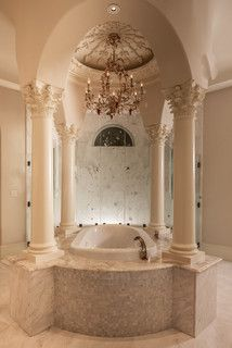 Master Bath - Mediterranean - Bathroom - houston - by Patrick Berrios Designs