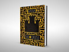 Great Book Cover Project #1 by Levente Szabó, via Behance - The Castle by Franz Kafka