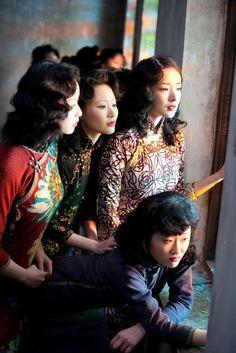 More  cheongsam...