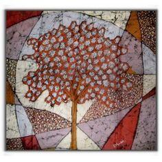 Lenço Forestsoul, seda pintada à mão com inspirações de árvores da Mata Atlântica. Lindo projeto ambiental para conservação das árvores nativas da região
