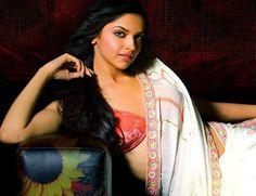 Dress No. 3 - Deepika Padukone White Saree
