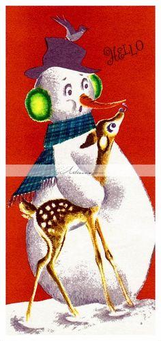 XXX Christmas Cards Box Set For The Holidays Funny Naughty Snowman Xmas Cards