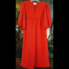 """Selling this """"Dressy Red Maternity Dress"""" in my Poshmark closet! My username is: Dressy Red Maternity Dress. #shopmycloset #poshmark #fashion #shopping #style #forsale #deborahrn"""