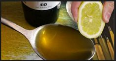 SQUEEZE 1 LEMON, MIX IT WITH 1 TBS. OF OLIVE OIL AND YOU'LL USE THIS MIXTURE TO THE REST OF YOUR LIFE!