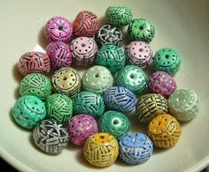 Bowl of Texture Beads | Flickr - Photo Sharing!