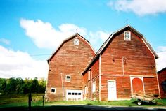 The Cobleskill barn before restoration into The Settlers Mountain Barn.
