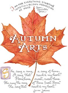Autumn Arts by Susan Branch