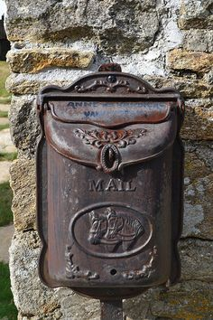 bo tes aux lettres on pinterest mail boxes vintage. Black Bedroom Furniture Sets. Home Design Ideas