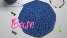 Cómo hacer Base para mochilas o Bolsos -TUTORIAL Paso a paso- - YouTube Diy Crochet, Crochet Hats, Mochila Crochet, Top Les, Base, Crochet Designs, Crochet Stitches, Projects To Try, Tapestry