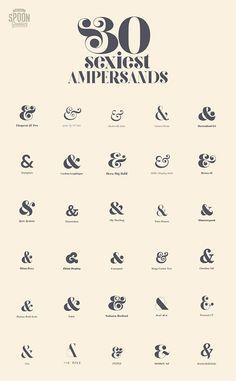 amphersands