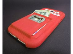 Galaxy S3 Case w/ card holder, Wallet, Money Clip, n opener by Amnfx