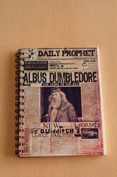 Anillado Recordando a Albus Dumbledore Diario El Profeta - Harry Potter