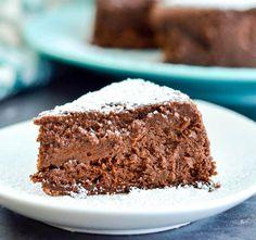 Flourless Chocolate Truffle Cake Recipe! An irresistible gluten-free dessert for serious chocolate lovers.