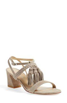 27771d83b67 Stuart Weitzman  Tasselmania  Strappy Sandal (Women) available at   Nordstrom Mid Heel
