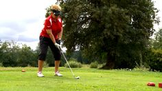 Golf has become increasingly popular with members of the blind and low vision community - there's even a newly formed Canadian Blind Golf Association. Outdoor Power Equipment, Blinds, Golf, Activities, Shades Blinds, Blind, Garden Tools, Draping, Exterior Shutters