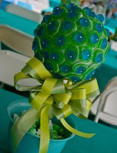 Blue Green Razberry Gummy Bear Candy Land door HollywoodCandyGirls