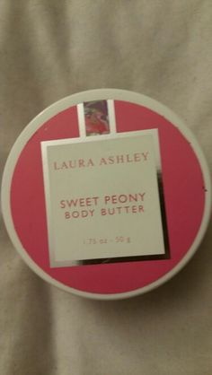 Laura Ashley sweet peony body butter