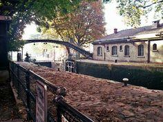 Canal Saint-Martin - Le Fabuleux Destin d'Amélie Poulain
